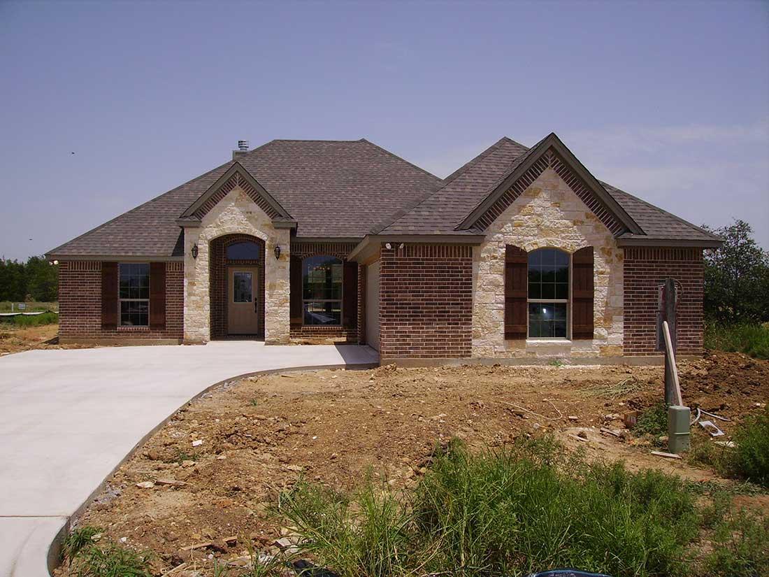 Don holmes custom homes home exterior photo gallery for Custom texas homes